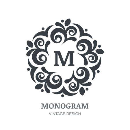 florale: Logo abstrakten Design