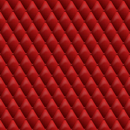 texture leather: Seamless red leather texture. Vector leather background. Luxury textile design, interior and furniture decoration concept.