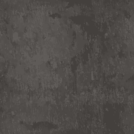 Vector dark grey slate seamless texture. Abstract black stone background. Blank chalkboard. Çizim