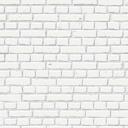 Struttura senza cuciture del muro di mattoni bianco. Interno astratto del sottotetto e di architettura, fondo.