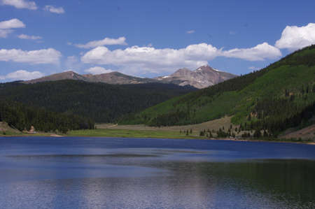 greys: Spring Creek Reservoir, Mosca Campground, Colorado
