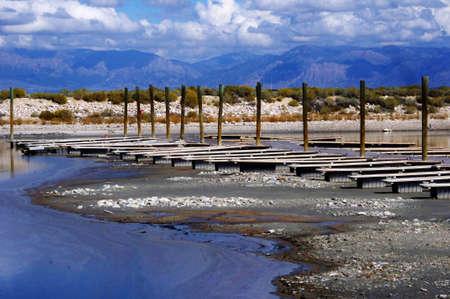 sequias: dique seco debido a la sequía