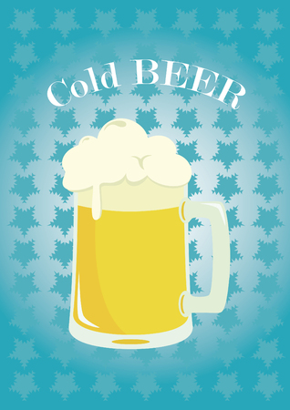 dewy: Delicious cold beer. Chilled glass of beer is the perfect beverage.