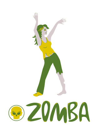 decomposition: Zomba - Exercises for the dead.  Illustration