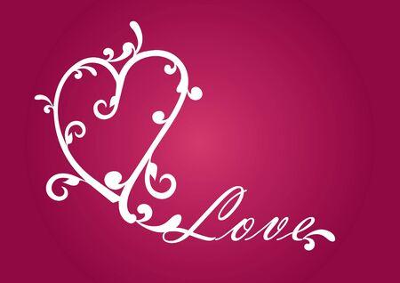 愛好家のための心。心が大好きです。バレンタインの日の赤い背景は。すべてのイベントのためのロマンチックな背景。すべてのロマンチックな瞬
