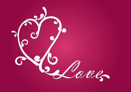 every day: Heart for Lovers. Love Heart. Red background for Valentines day. Romantic backdrop for every event. Valentine background for every romantic moment. design