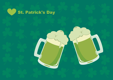 patron: Saint Patricks Day. Happy St. Patricks Day! Celebrated in March, in honor of St. Patrick, the patron saint of Ireland. The symbol is a green color. Celebrating with music, dancing and drinking dark beer.