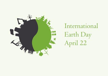 earth day: International Earth Day.