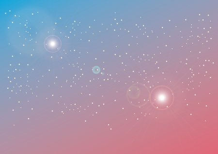 galaxies: Space background vector. Colored background with starry sky. Illustrations of galaxies Illustration