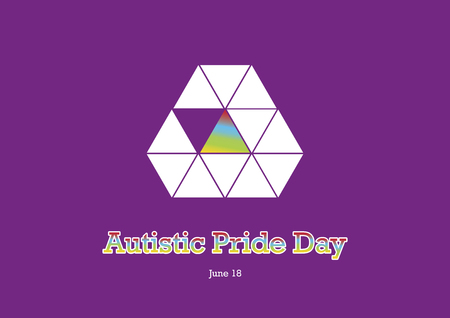 Autistic pride day vector. World Autism Day. Autistic pride day. Important day