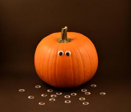 Halloween pumpkin. Halloween pumpkin. Cute halloween pumpkin. Stock photography Halloween pumpkin