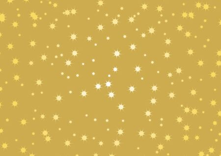 Vector Illustration Keywords: Vector Illustration Keywords: Christmas ornament on a white background with copy space for text. Golden Christmas Stars. Vector Illustration Keywords: Фото со стока - 134170441