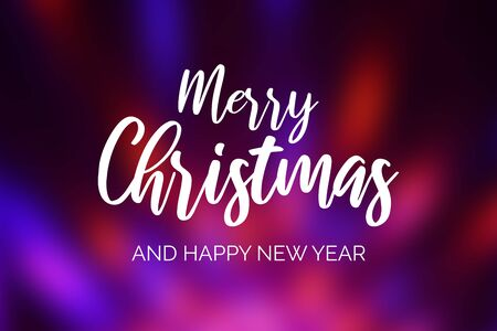 Merry Christmas and Happy New Year. Red blue light stock images. Elegant holiday background. Violet abstract background. Purple christmas background Фото со стока - 134170517