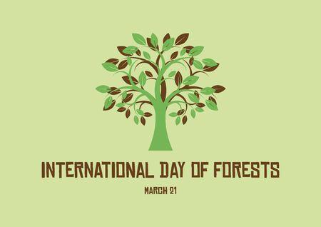 Vector Illustration Keywords: Vector Illustration Keywords: Vector Illustration Keywords: Vector Illustration Keywords: Day of Forests Poster