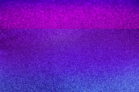 Horizontal shiny blue purple glitter texture background stock images. Texture of blue violet glitter shiny background stock photo. Abstract blue pink shiny background with copy space for text