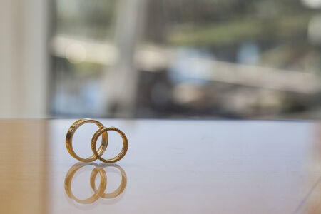 wedding band with a cable-stayed bridge in the background, Sao Paulo, Brazil. photo