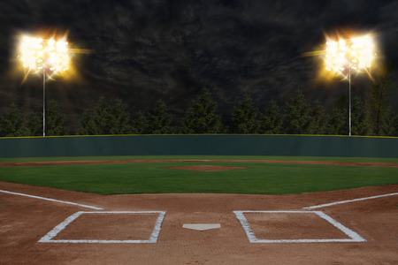 grass field: Baseball Stadium