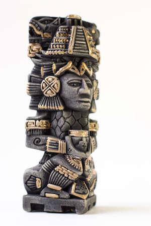 Miniature souvenir Statue Mayan