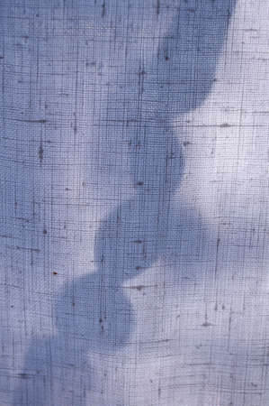 linen fabric: shadow on linen fabric