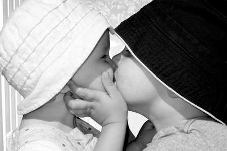 Tender kiss photo