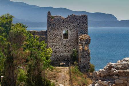 Lykourgos Logothetis Castle in Pythagorion, Samos, Greece
