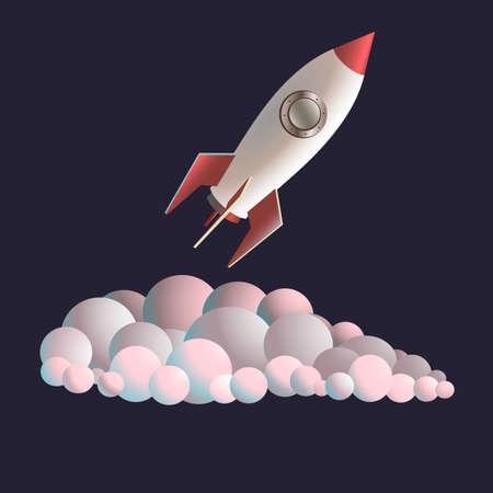 spacecraft: ocket, science, shiny, ship, smoke, space, spacecraft, spaceship,