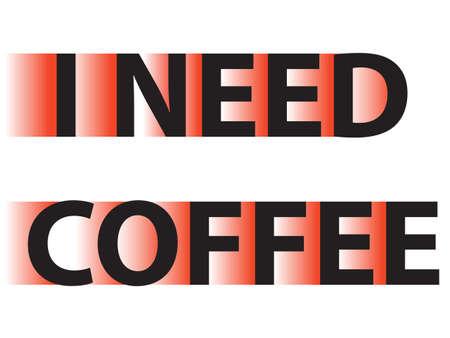 I need coffee t-shirt  typography emblems,