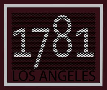 founding: Vintage Los Angeles California