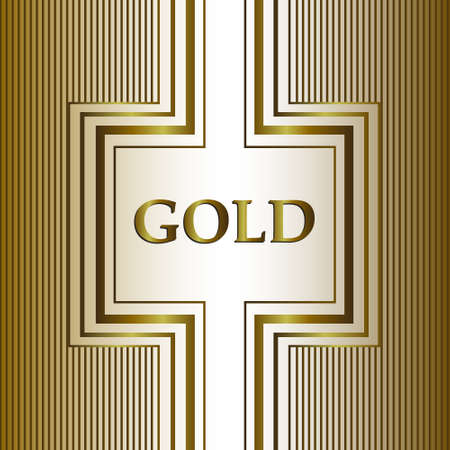 gold. card, background. Creative design, vector illustrations