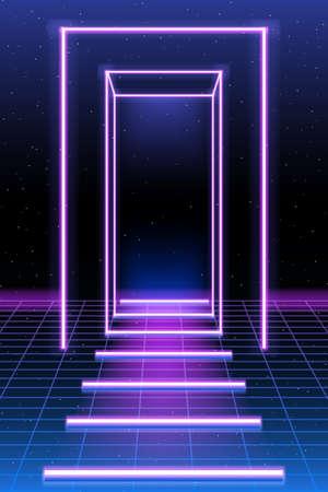 synth pop, retro, falla, elegante, moda, años 80, abstracto