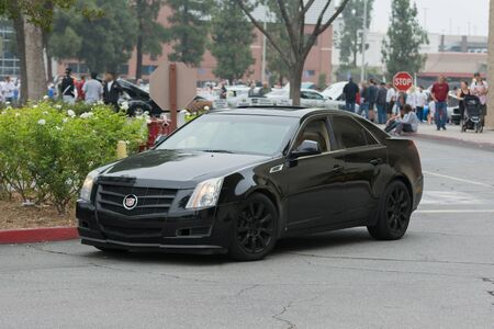 Woodland Hills, CA, USA - July 5, 2015: Cadillac CTS car on display at the Supercar Sunday car event. Editorial