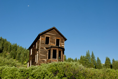 mining town: Animas Forks Ghost Town mining