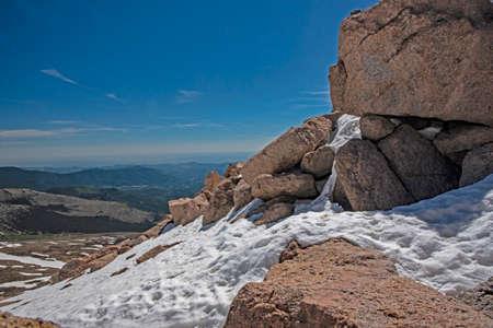 Landscape scenic of Mt. Evans in Colorado. Reklamní fotografie