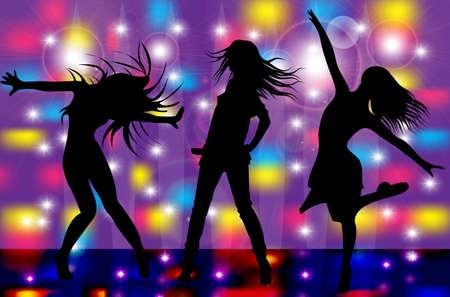 dance  向量圖像