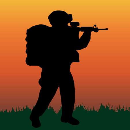 explosive watch: soldiers