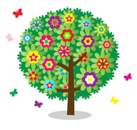 un arbre: arbre