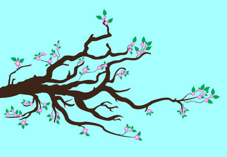 fruit stem: tree branch