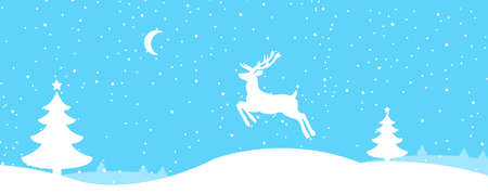 illustrati: christmas reindeer