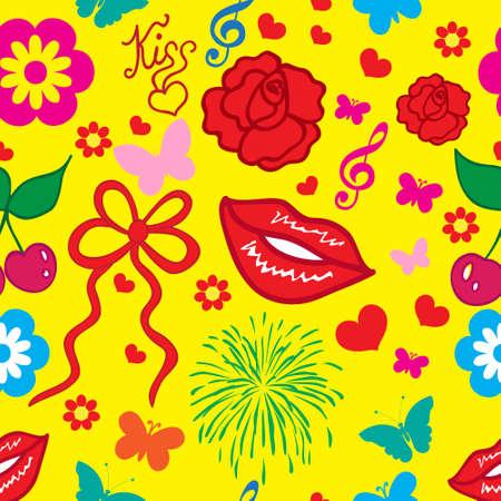 beloved: valentines day Illustration