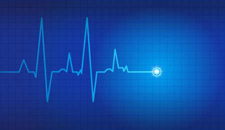 cardiogram: cardiogram vector background Illustration