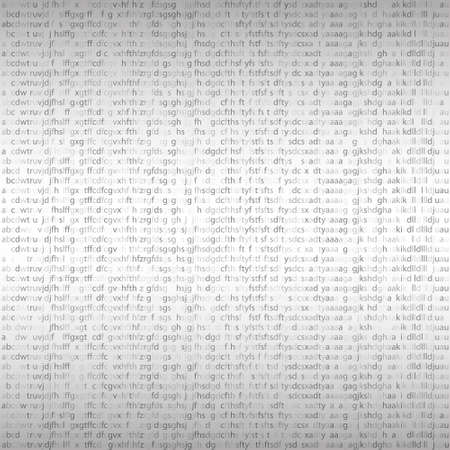computer code: Seamless texture. Random letters, symbols computer code. Binary Code, Algorithm binary, data code. Vector illustration