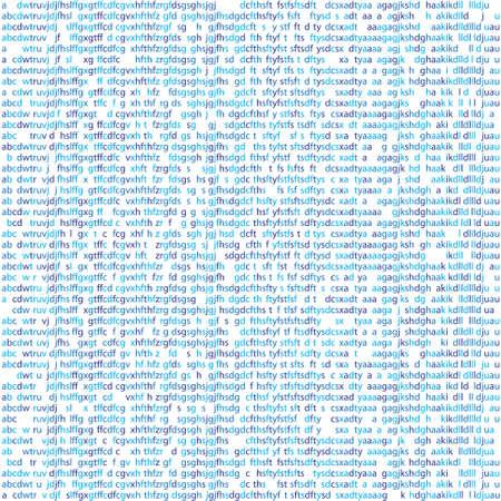 Seamless Texture Random Letters Symbols Computer Code Binary