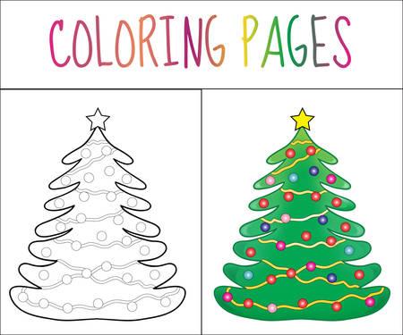 Libro De Colorear, Gallo. Croquis Y Versión En Color. Dibujos Para ...