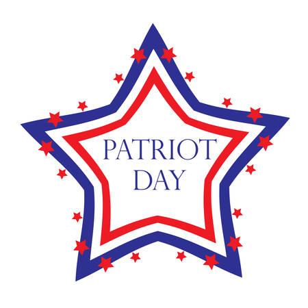 patriot: Patriot Day USA, American Patriot Day. Vector illustration.