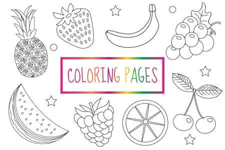 Erfreut Färbung Seite Obst Galerie - Ideen färben - blsbooks.com