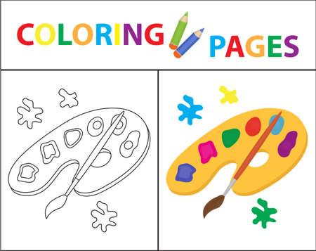 Malbuchseite. Obst-Set. Skizze, Doodle, Umriss-Stil. Färbung Für ...