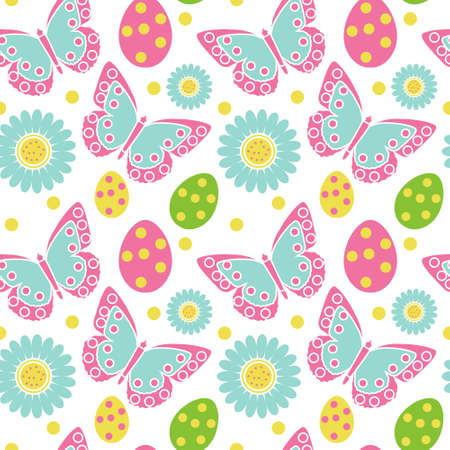 cute easter seamless patterns print repeating textures children