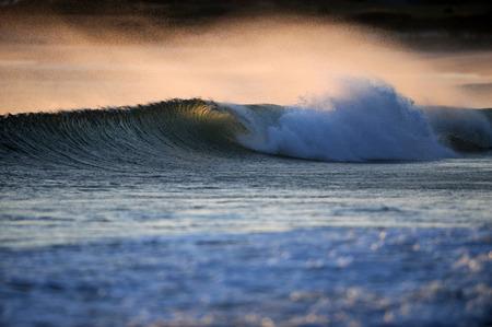 amanecer: olas y surf