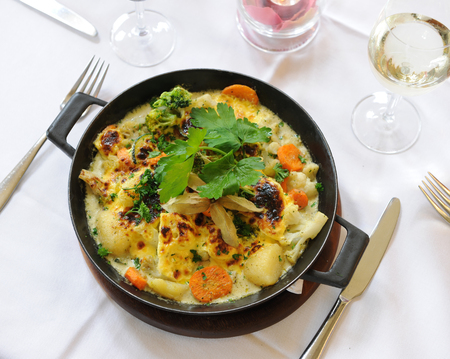 dish in a fine restaurant 写真素材