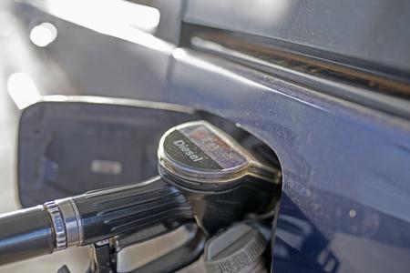 gas station diesel